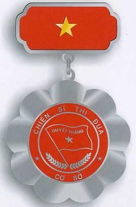 Huy hiệu chiến sĩ thi đua cơ sở